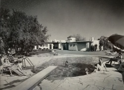 Hermosa Inn_pool_circa 1950's