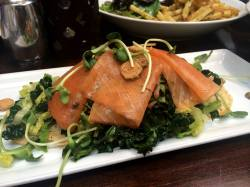 Salmon and Kale Salad