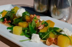 Beets and Ricotta Salad_photo by Kendra Riley